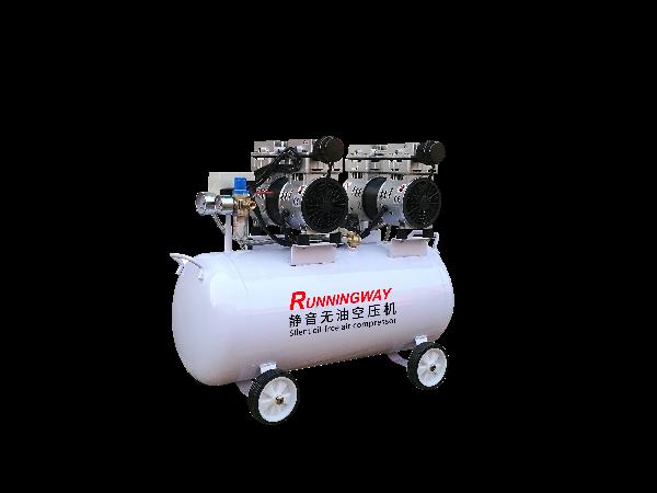 静音无油空气压缩机系统知识及部件