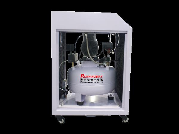 睿者静音无油空压机零件保养和维护方法?