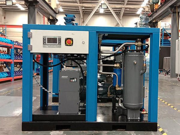 无油螺杆空气压缩机的故障以及处理方法!