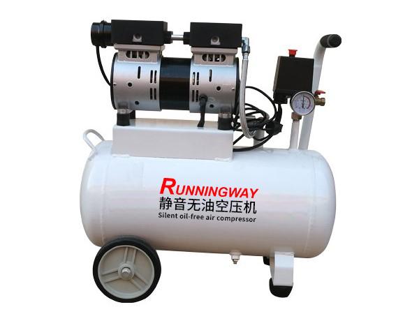 实验室静音无油活塞式空压机